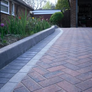 Block paving driveways in Staplehurst