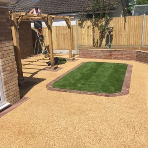 resin bound driveway in St Leonards on Sea