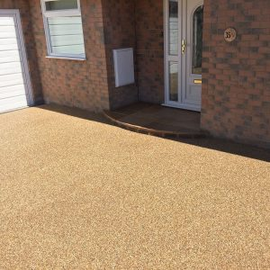 Resin bound driveway contractors Battle