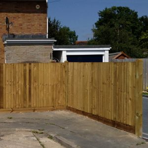 Custom Wooden Fencing Installer